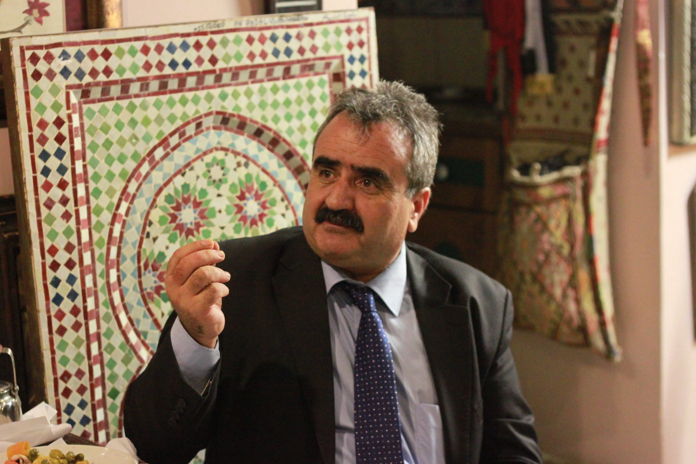 Asad Ewaiwi, a Palestinian political activist and university professor of political science.