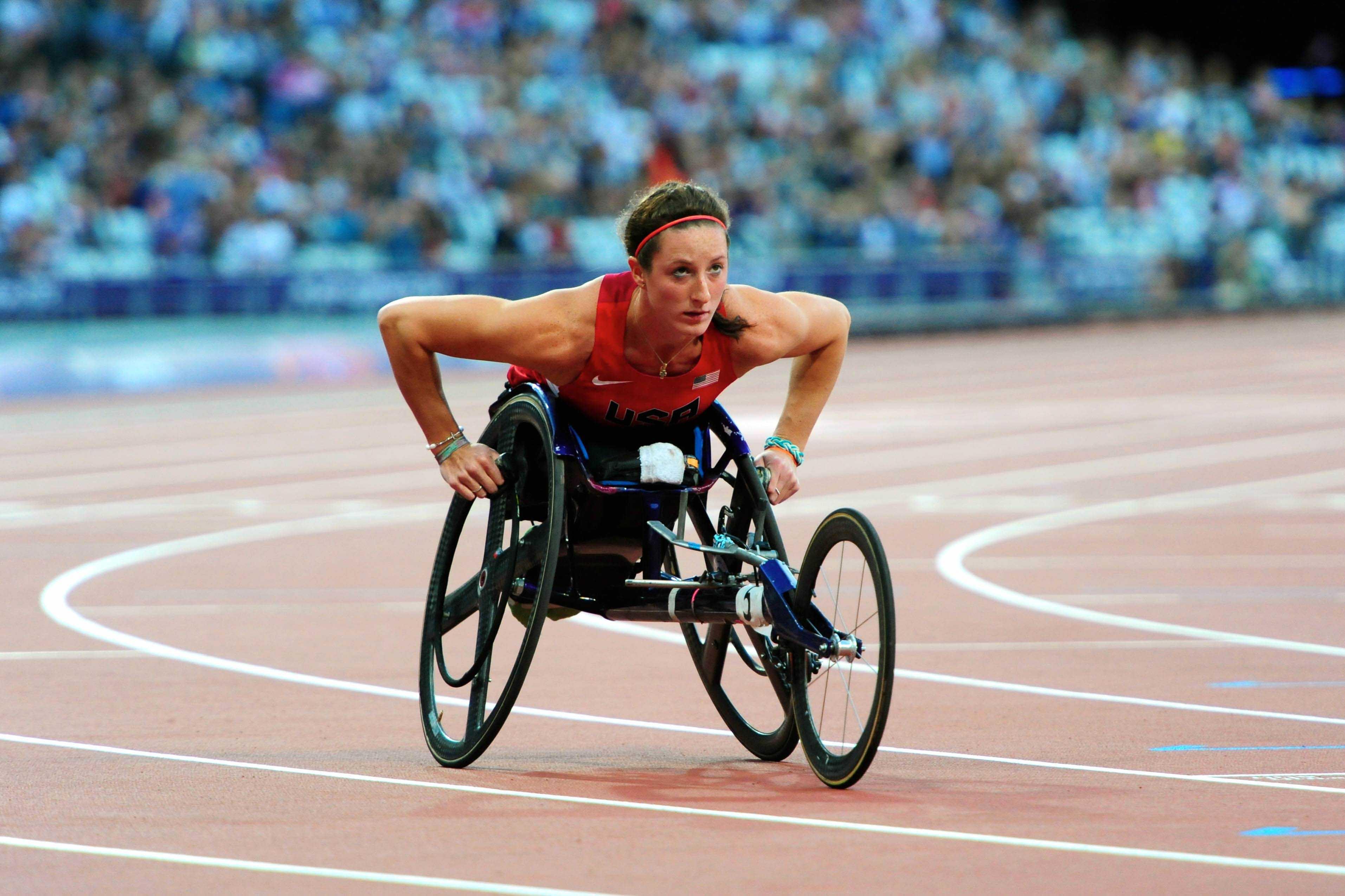 Tatyana McFadden at the London Paralympics