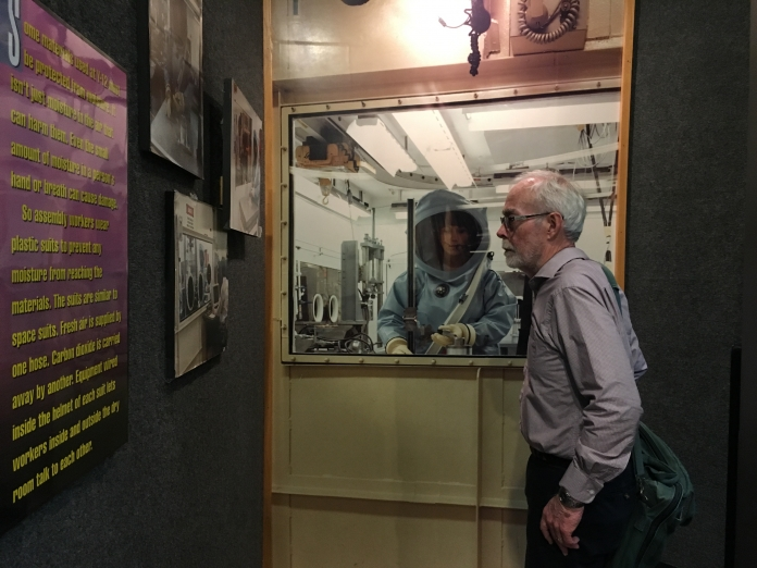 A visit to the secret government lab where my grandfather worked