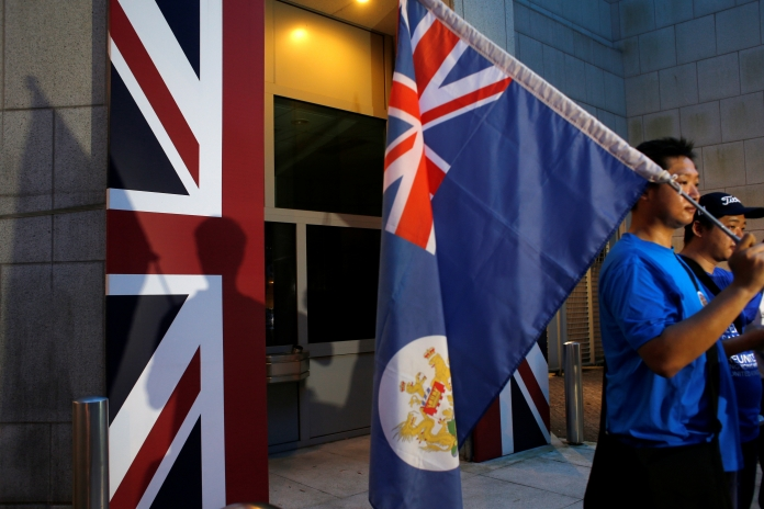 There's a movement to turn Hong Kong back into a British colony
