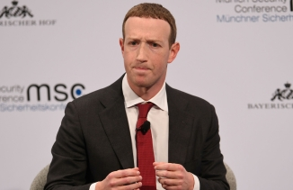 FacebookChairman and CEO Mark Zuckerberg attends the annualMunichSecurity Conference in Germany, on Feb.15, 2020.