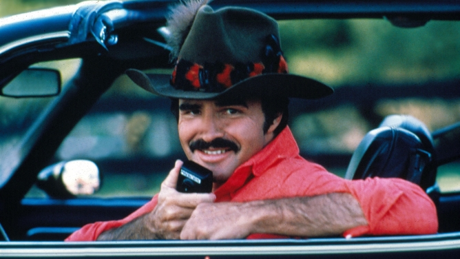 "Burt Reynolds in ""Smokey and the Bandit II."""