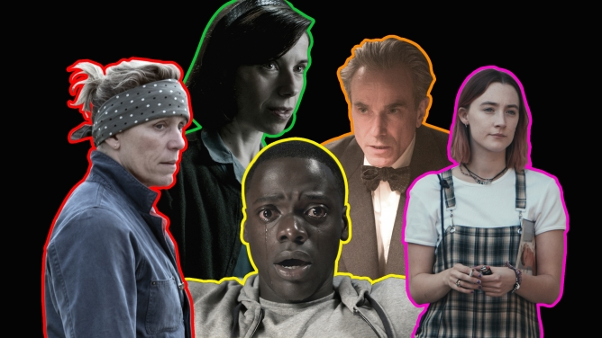 A few of this year's Oscars contenders.