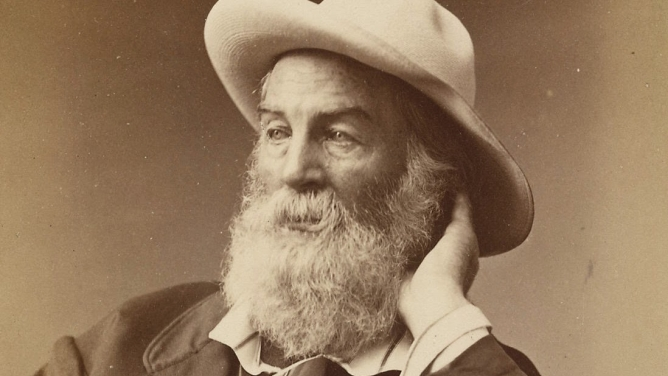 Walt Whitman in Brooklyn, 1872