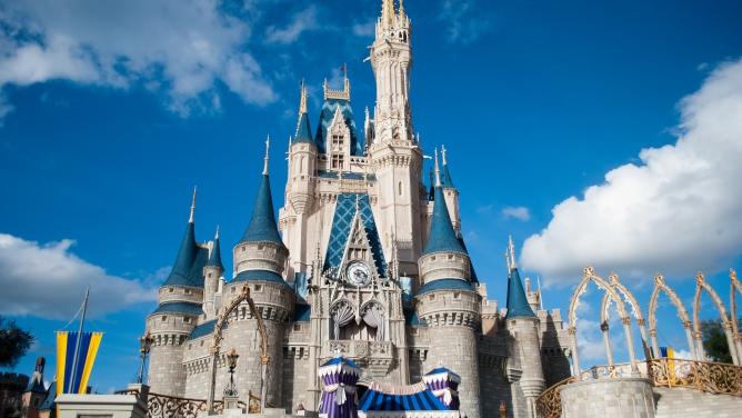 The Magic Kingdom at the Walt Disney World Resort in Florida