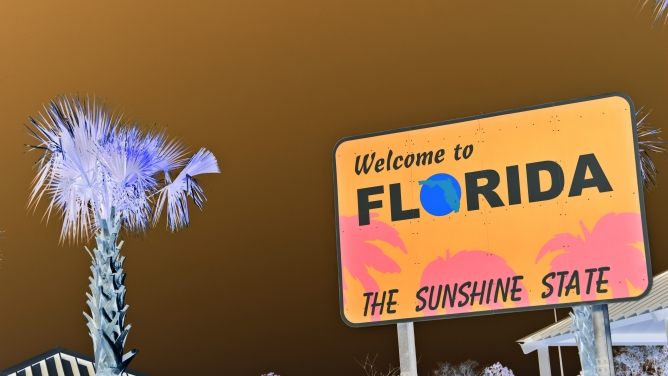 Welcome to the Sunshine State.