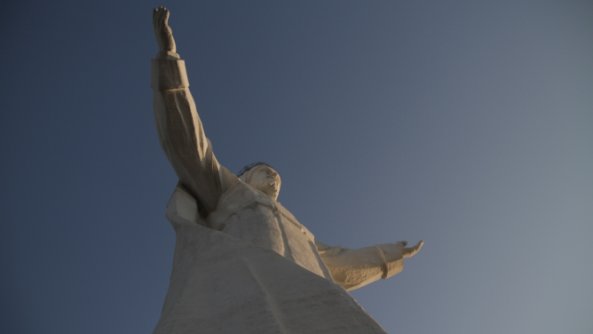 "What's billed as the ""largest Jesus statue in the world,"" Christ the King in Swiebodzin, Poland."