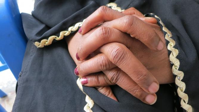 Abortion in Ethiopia — Khadija's hands