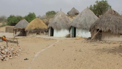 Homes in Sindh, Pakistan