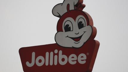 A logo of Jollibee company