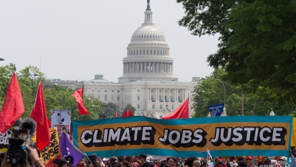 DC climate rally