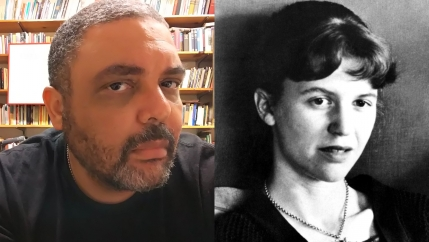 The poets Shane McCrae and Sylvia Plath pictured half a century apart.