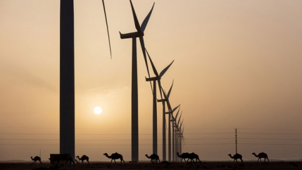 Wind turbines Morocco