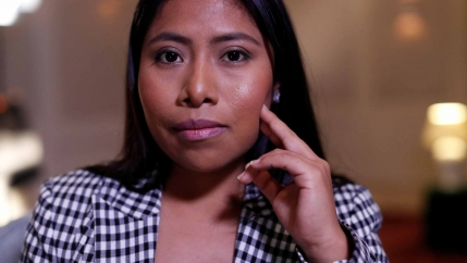 Yalitza Aparicio poses for a portrait