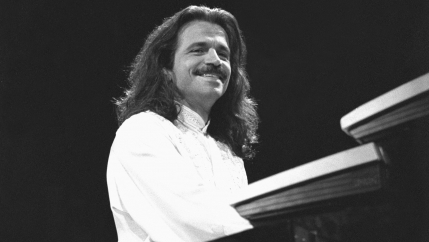 "Yanni performing ""Live at the Acropolis."""