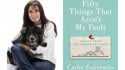 "Cathy Guisewite and her new book ""Fifty Things That Aren't My Fault."""