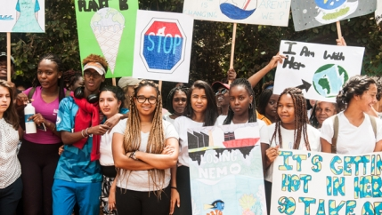 Nairobi youth climate strike