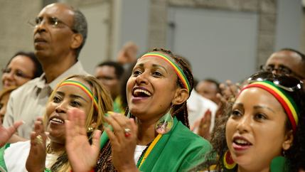 members of the Ethiopian diaspora