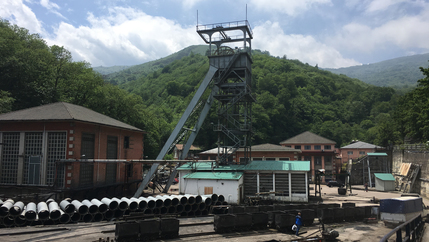 The San Nicolas mine in Spain's northern region of Asturias is the last working coalmine in all of Spain. At its peak, it employed around two thousand people — today, about two hundred people work there.
