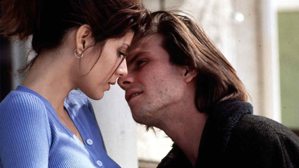 "The 1993 romantic drama ""Untamed Heart,"" starring Marisa Tomei and Christian Slater."