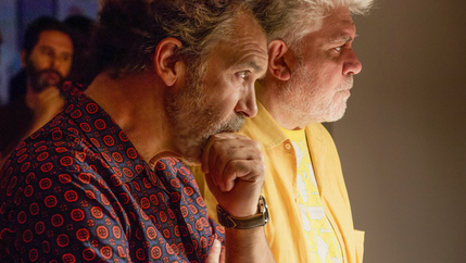 Antonio Banderas and Pedro Almodóvar
