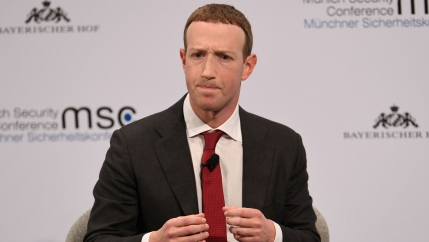 Facebook Chairman and CEO Mark Zuckerberg attends the annual Munich Security Conference in Germany, on Feb. 15, 2020.