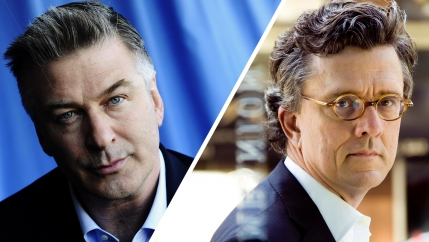 Alec Baldwin and Kurt Andersen