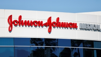 Johnson&Johnsoncompany offices are shown in Irvine, Calif., Oct.14, 2020.