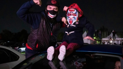 With sports contests being frequently canceled due to the pandemic, many spectators have cherished the chance to watch lucha libre from their cars.