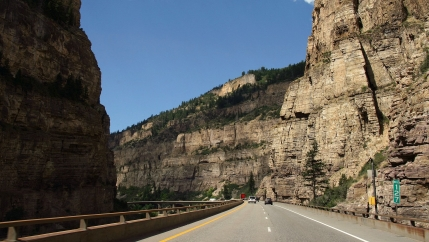 I-70 and Glenwood Canyon