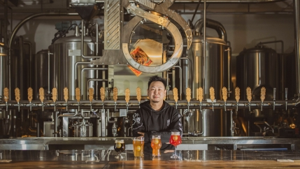 Wang Fan, 39, runs several bars and restaurants in Wuhan.