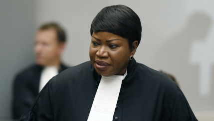 Prosecutor Fatou Bensouda speaks at the International Criminal Court (ICC) in The Hague, Netherlands, in this this Aug. 28, 2018, file photo.