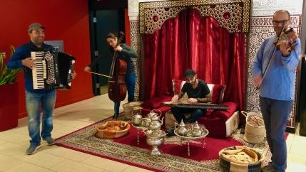 Taraf Syriana at Montreal's Moroccan Centre.
