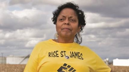 Founder of RISE St. James and 2021 Goldman Environmental Prize winner Sharon Lavigne