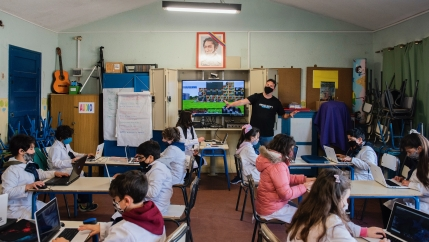 Before the pandemic, each student in the Uruguayan public system alreadyhad a personal computer under Plan Ceibal, which started in 2007.