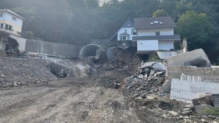 damaged homes