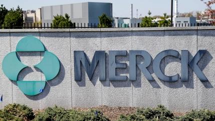 Merck corporate headquarters in Kenilworth, NJ