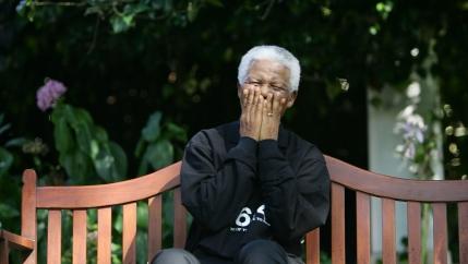 Nelson Mandela in 2005