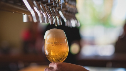 The New Belgium Brewing Company is the 4th largest craft brewer in the US. Their beers are in demand across the globe, but the company is hesitant to expand exports too quickly.