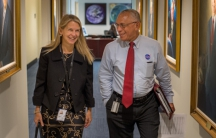 Dava Newman and Charles Bolden