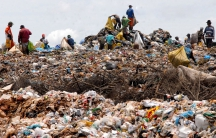 People in Brazil who earn their living by collecting and sorting garbage and selling them for recycling Marcello Casal Jr./Agência Brasil