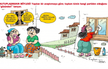 Turkish cartoon makes fun of those who comment on women's clothes