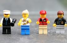 Lego city people.