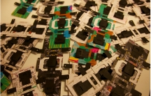 Foldscope microscopes are made and ship flat.