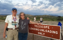 Astronomer Al Grauer and his wife Annie were instrumental in getting a dark sky sanctuary designation for the Cosmic Campground in New Mexico. The recognition came from the International Dark Sky Association.