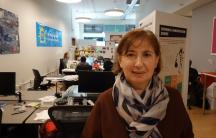Marina Gorbis, Executive Director of the Institute for the Future in Palo Alto, CA