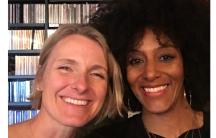 Sarah Jones and Elizabeth Gilbert