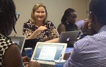 "Rebecca MacKinnon, director of New America Foundation's ""Ranking Digital Rights"" project"