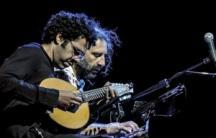 Hamilton de Holanda on the bandolim and Stefano Bollani on piano (CREDIT: www.stefanobollani.com)
