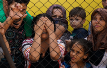 Syrian women and children at a Budapest train station in Hungary on September 4th, 2015. (Photo: Mstyslav Chernov, CC BY-SA 4.0)